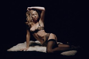Abbey Clancy Strips off for 'LOVE' Magazine