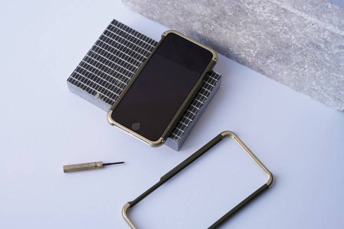 REVISIT Customizes Its Brass iPhone Case for Ace Hotel
