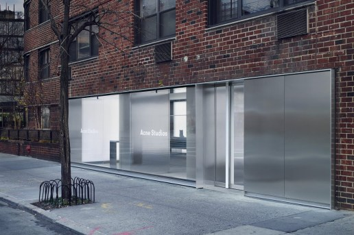 Acne Studios' New NYC Store Comes From the Space Age