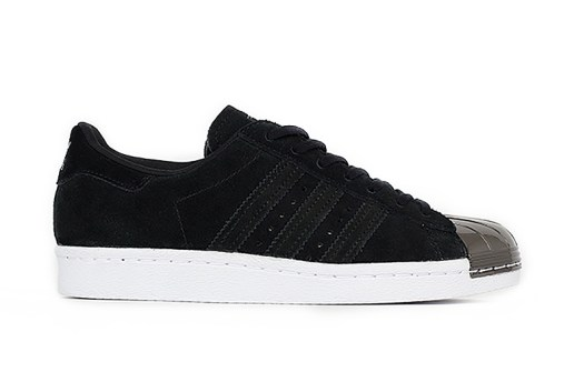 adidas Adds Flair to Its Classic Superstar Silhouette With a Metallic Black Toe