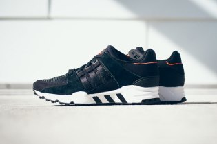 adidas EQT Running Support Black/Infrared