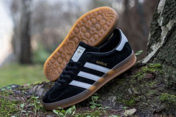 adidas Originals Gazelle Indoor Black/White