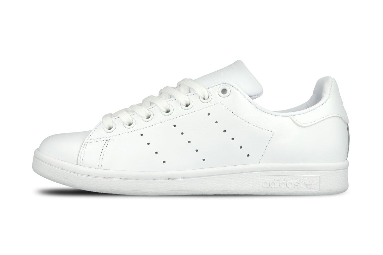 adidas originals stan smith triple white hypebeast. Black Bedroom Furniture Sets. Home Design Ideas