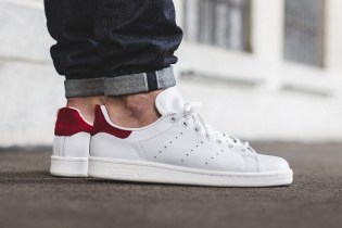 adidas Originals Adds Red Pony Hair to the Stan Smith