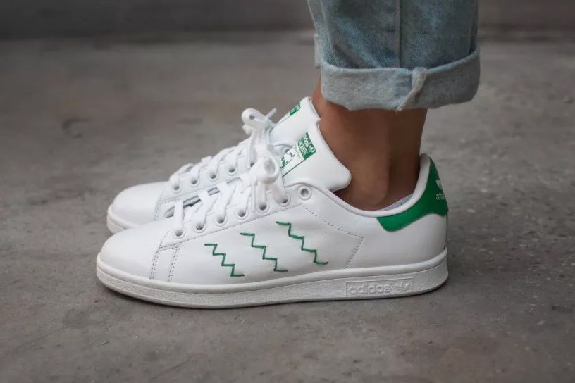 adidas stan smith zig zag sneaker hypebeast. Black Bedroom Furniture Sets. Home Design Ideas