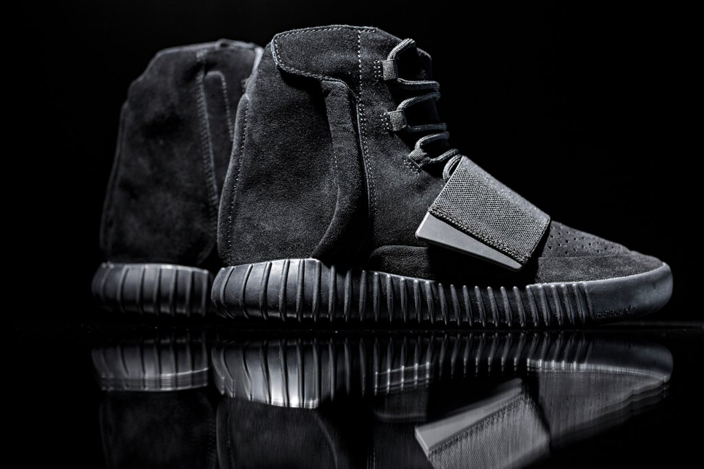 A Detailed Look at the adidas Originals Triple-Black Yeezy Boost 750s