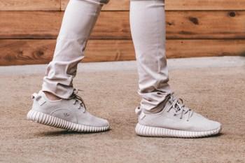 "An #OnFeet Look at the adidas Originals Yeezy Boost 350 ""Tan"""