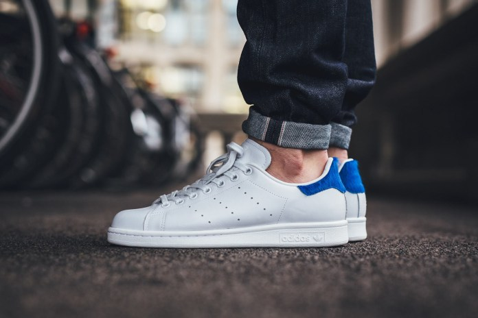 """The New adidas Stan Smith WMNS """"Vintage White"""" Features Faux Fur Accents"""