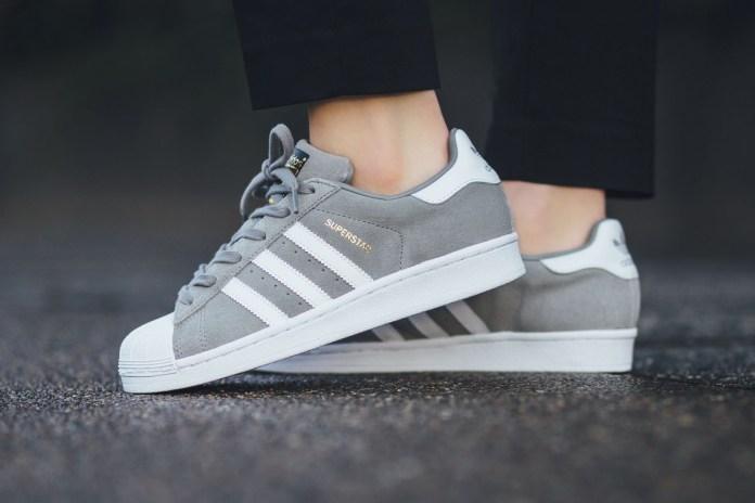 """adidas Superstar Suede """"Solid Grey"""""""