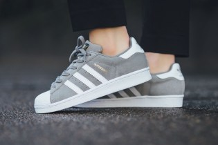 "adidas Superstar Suede ""Solid Grey"""