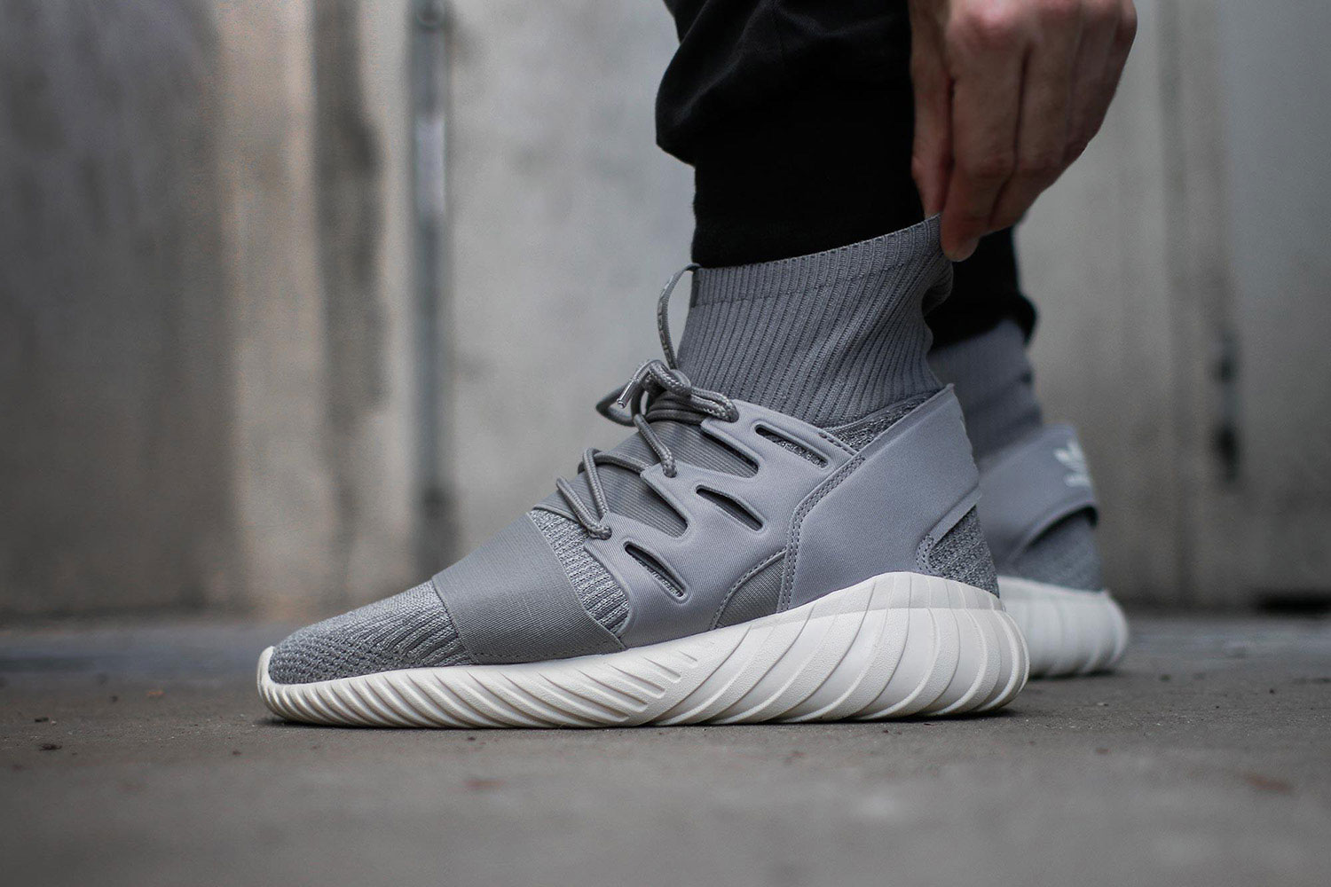 The adidas Tubular Doom Primeknit Night Marine Is Now Available