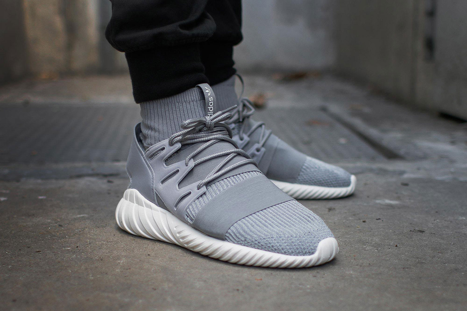 Adidas Tubular Nova Primeknit GID Shoes Beige adidas UK