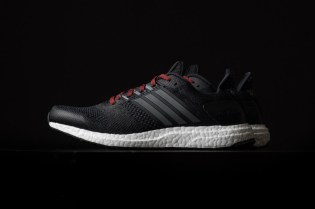 adidas Ultra Boost ST Black/Iron/Red