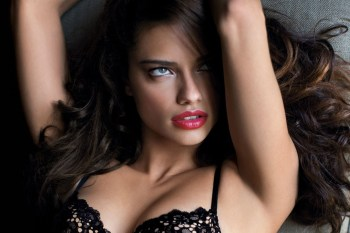 Adriana Lima Gets Down for 'LOVE Magazine'