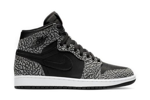 Jordan Brand Brings Its Iconic Elephant Print to the 1st Air Jordan Silhouette