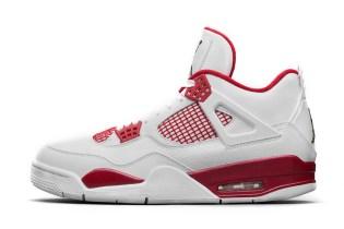 "Jordan Brand Officially Unveils the Air Jordan 4 ""Alternate 89"""