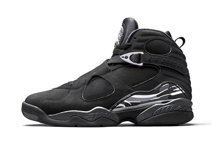 "The Air Jordan 8 ""Chrome"" Will Drop Alongside the Yeezy Boost 750 ""Black"""
