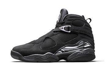 "The Air Jordan 8 ""Chrome"" Will Drop Alongside the Yeezy Boost 750 ""Black"""