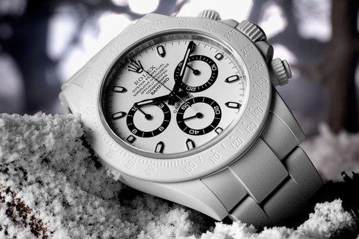 Bamford Watch Department Polar Edition Rolex Daytona, Milgauss and Explorer