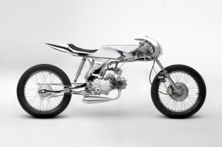 Bandit9 Reduces the Motorcycle to a Beautiful Chrome Skeleton