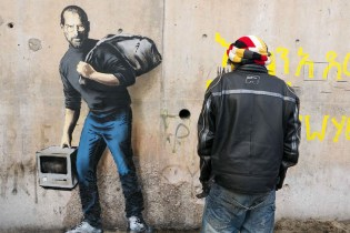 Banksy Brings Awareness to France with Steve Jobs Piece