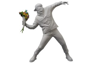 "Banksy ""Flower Bomber"" by Medicom Toy"