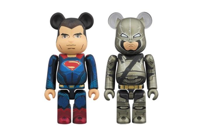 Medicom Toy 'Batman v Superman: Dawn of Justice' 100% Bearbricks