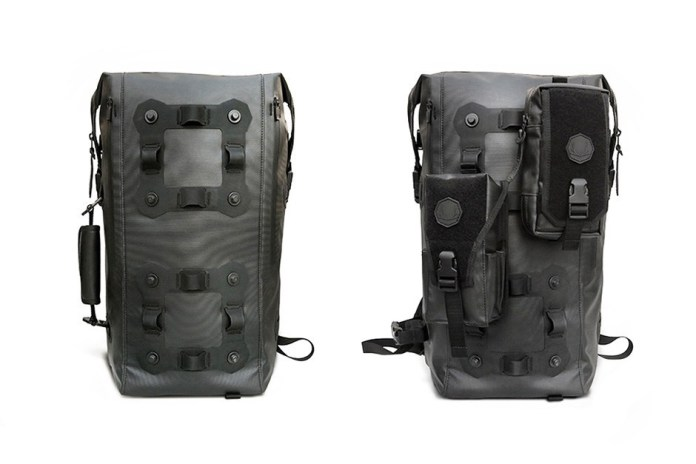 Black Ember Has Designed a Fully Customizable Modular Backpack
