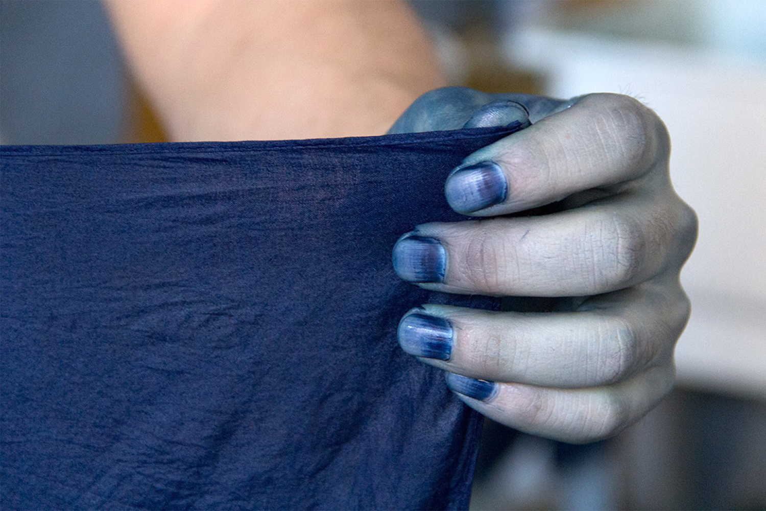 A Look at How Natural Indigo Dye Is Created From Scratch