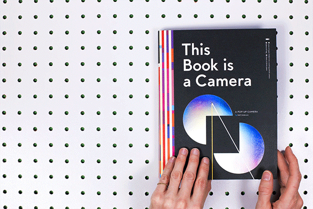 This Book Is Actually a Camera
