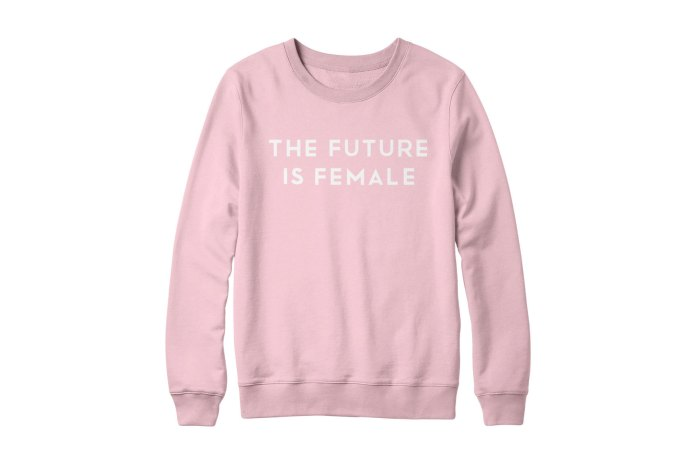 "Cara Delevingne Releases ""The Future Is Female"" Sweaters for Charity"