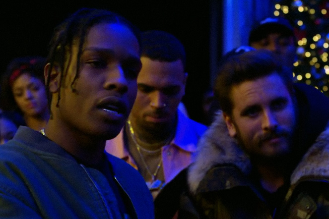 "Chris Brown ""Picture Me Rollin'"" Music Video Features Scott Disick, A$AP Rocky and A$AP Ferg"