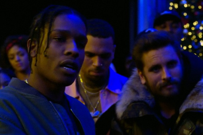 """Chris Brown """"Picture Me Rollin'"""" Music Video Features Scott Disick, A$AP Rocky and A$AP Ferg"""