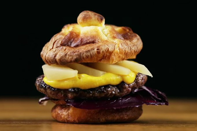 Brace Yourselves for These Mouthwatering Christmas-Inspired Burgers