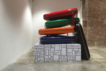 Giant COMME des GARÇONS Wallets Are on Display at Dover Street Market New York