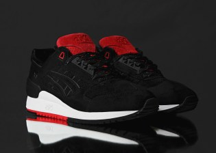 "Concepts x ASICS GEL Respector ""Black Widow"""