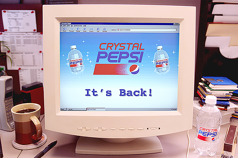 Crystal Pepsi Is Back