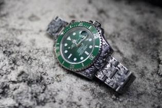 Fin Des Temps x Huckleberry LTD Custom Rolex Green Dial Submariner