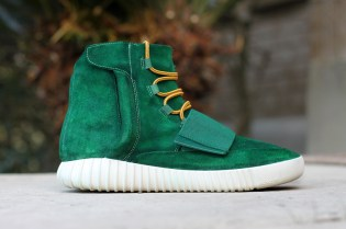 "Dank Customs Makes a Beautiful Yeezy Boost 750 ""Moss"" Edition"