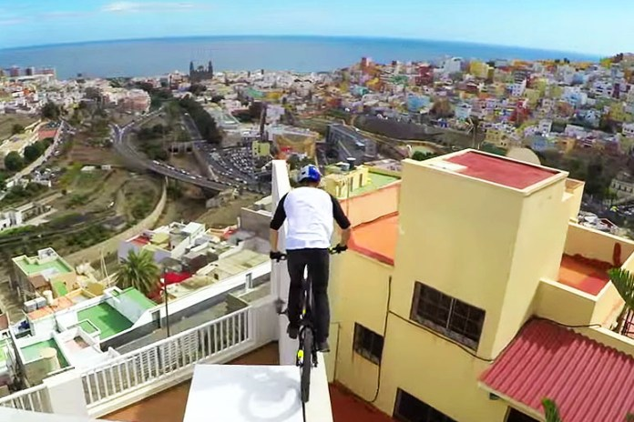 Danny MacAskill Takes on Canary Island Rooftops