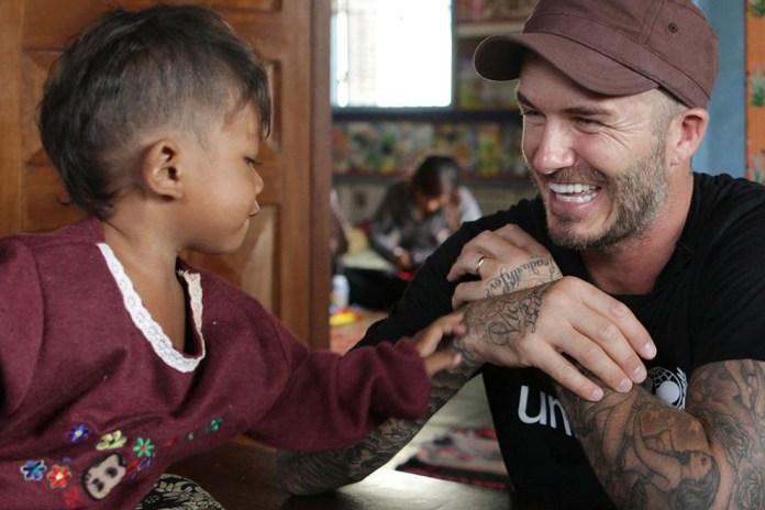 David Beckham Plays Football in Antarctica for New BBC Documentary