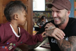 David Beckham Plays Football in Antarctica for New BBC Documentary