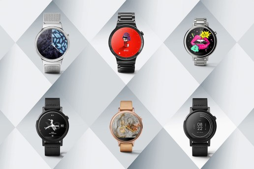 Designer Brands Join the Smartwear Race With Custom Android Watch Faces