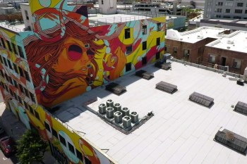 A Drone Video Created a Stunning Document of LA's Murals