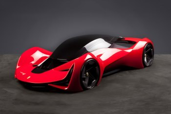 This Is What Ferraris Will Look Like in 2040