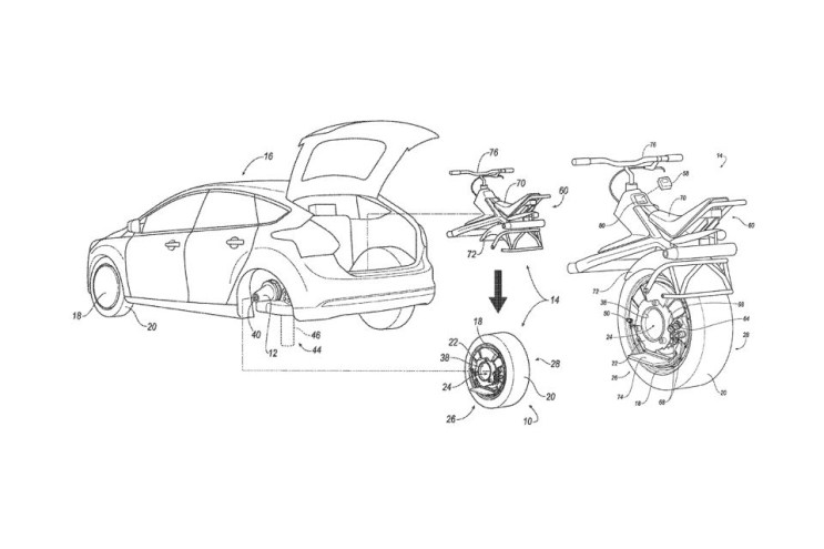 Ford May Transform One of Your Rear Wheels Into the Batpod