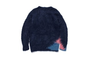 fragment design and Dai Ando Mohair Sweaters Harness the Punk Rock Spirit