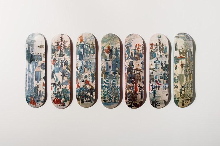 "Girl Skateboard Co. Teams up With Artists to Create ""Studio Series"" Decks"