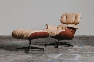Herman Miller x 3sixteen Custom Eames Lounge Chair and Ottoman