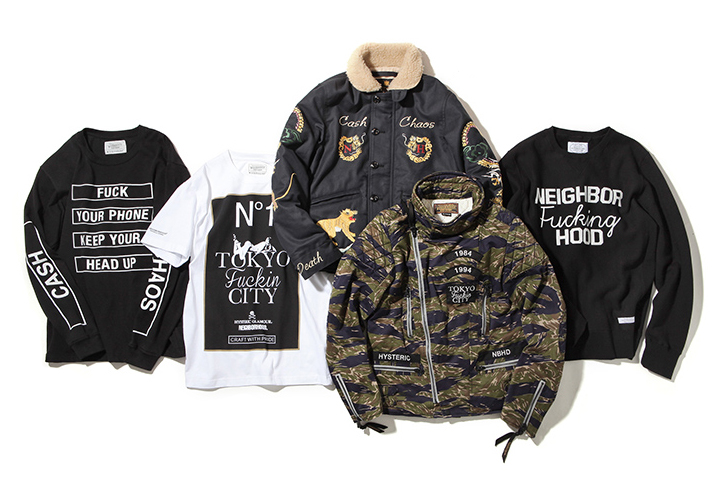 """Hysteric Glamour x NEIGHBORHOOD 2016 """"New Year"""" Collection"""